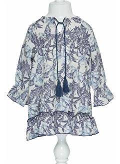 çikoby Çikoby Kız Bebek Desenli Elbise 6-36 Ay C19W-CK3542